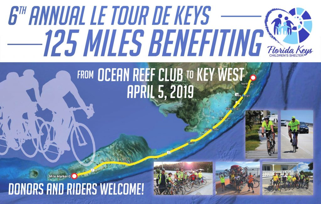 Tour de Keys Donors and Riders Welcome